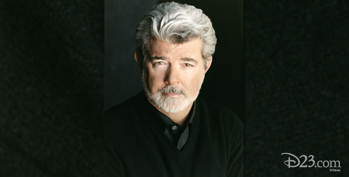 photo portrait of George Lucas