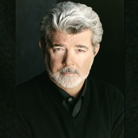 photo portrait of George Lucas