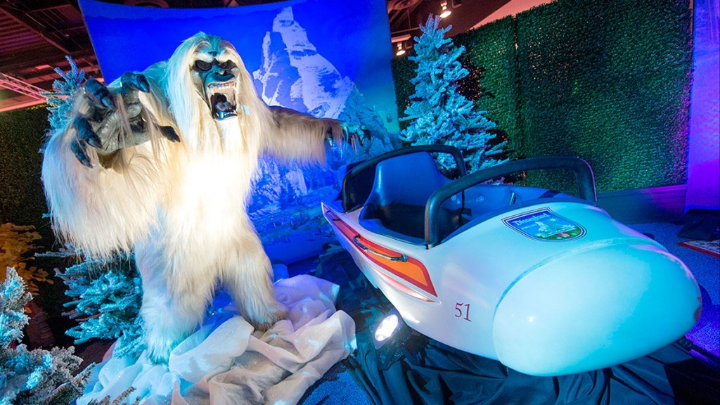 Yeti Archive in Disneyland Parks at D23 EXPO 2015