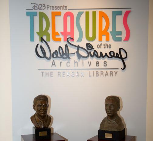 Photo Tour: D23 Presents Treasures of the Walt Disney Archives
