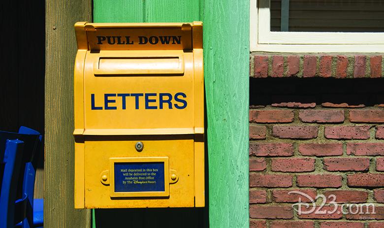 Pacific Wharf mailbox
