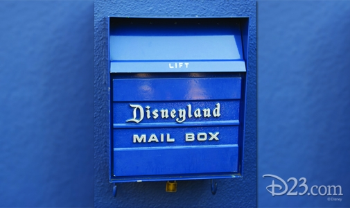 Tomorrowland mailbox