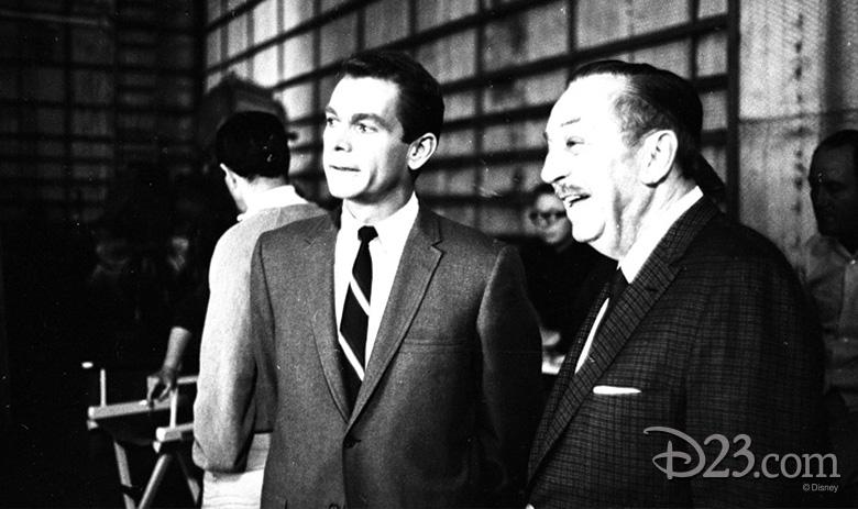 Dean Jones and Walt Disney