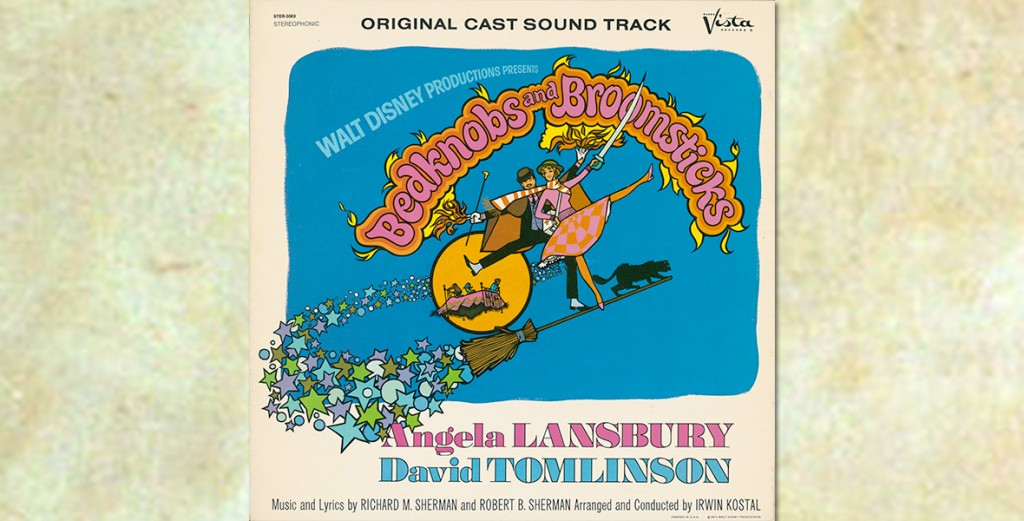 Bedknobs and Broomsticks Soundtrack Album Cover