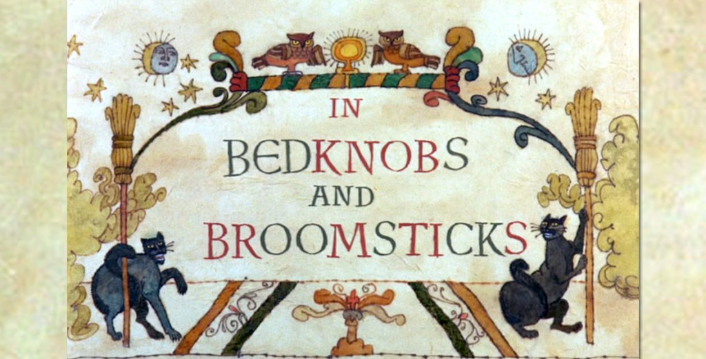 Bedknobs and Broomsticks Title Card