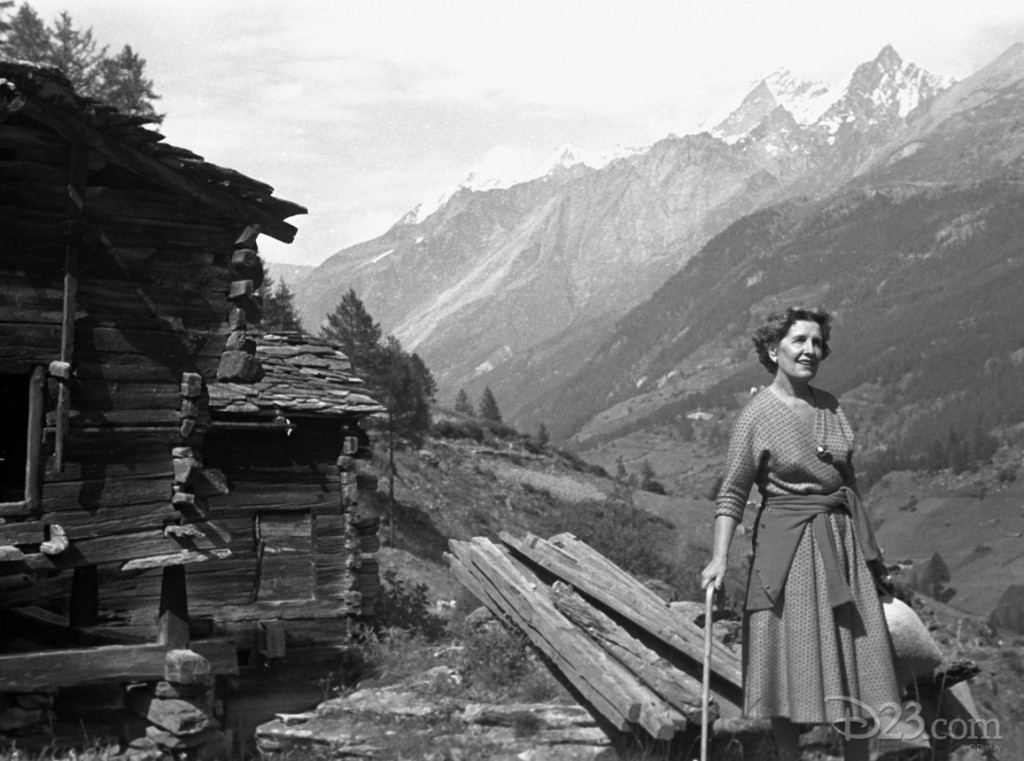 This photo was taken in Zermatt, Switzerland, during the week of July 6-14, 1958, when Walt and Lilliane were touring Geneva, Lausanne, and Montreux during the filming of <i>Third Man on the Mountain</i>.
