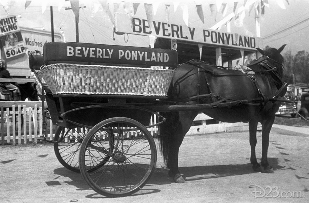 photo of Beverly Ponyland Horse and Two-Wheeled Buckboard
