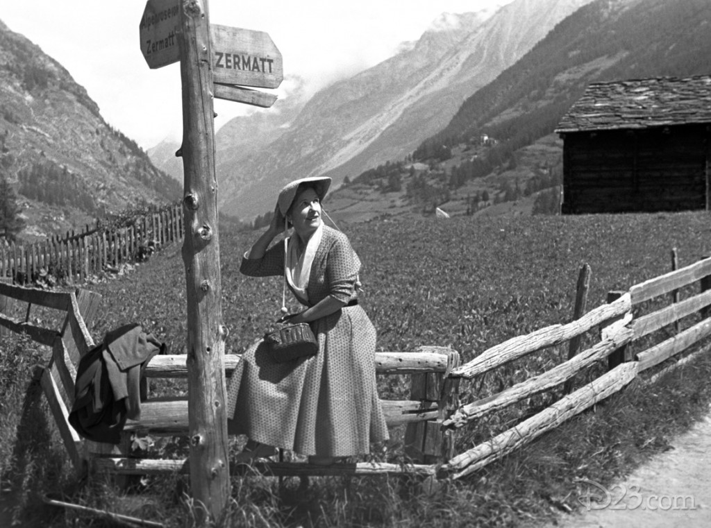 Another candid shot of Lillian, taken while the couple stayed in Zermatt.