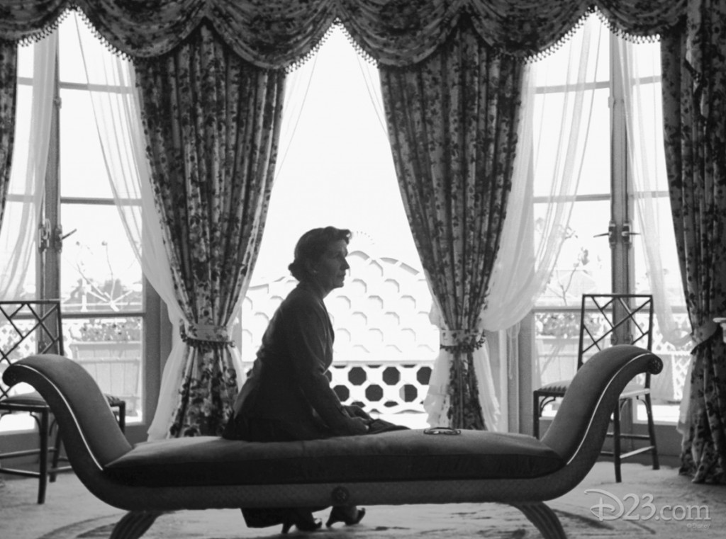 Walt and Lillian visited Copenhagen from June 28-29, 1958. Disney Archivists believe this intimate photo was taken at the Hotel D'Angleterre. While there, the couple visited the renowned Tivoli Gardens.