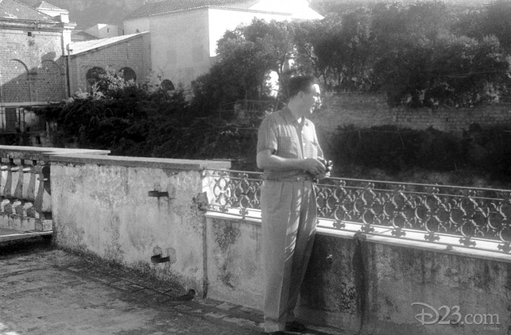 On July 28 1951, Walt and his family flew from London to Rome, registering at the Hotel Excelsior. During their Italian sojourn, they visited many cities, including Naples, Pompeii, Amalfi,  Capri, Siena, Florence, and Venice.