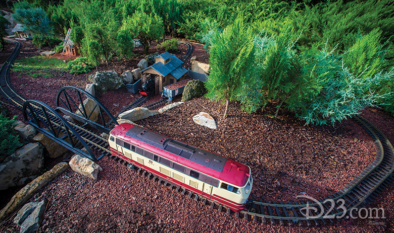 Garden Railway Miniature Train