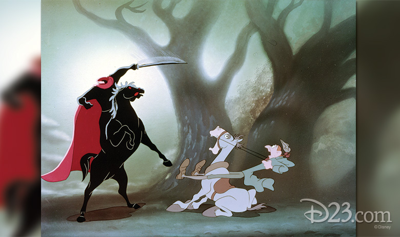 Haunting Imagery From The Legend Of Sleepy Hollow D23