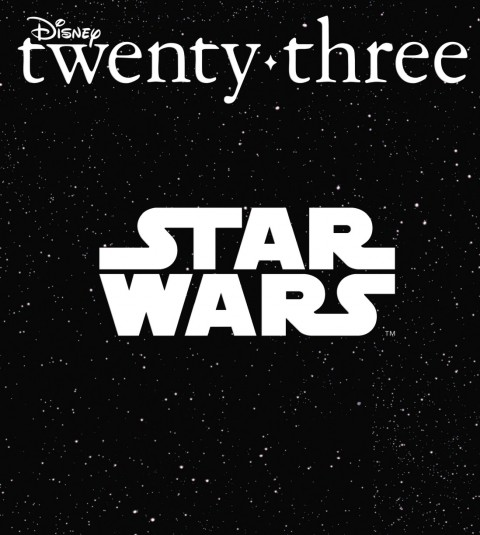 Disney twenty-three Winter 2016 cover art featuring Star Wars