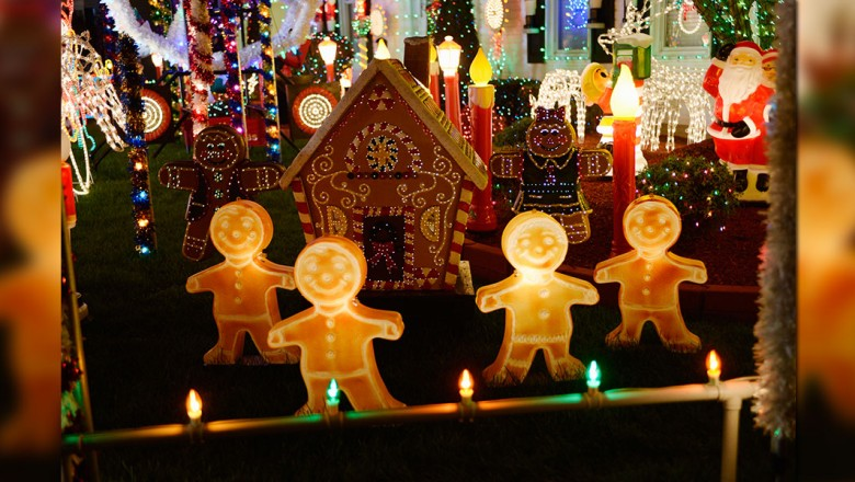 Christmas Light Fight.D23 Fans Join In On The Great Christmas Light Fight D23