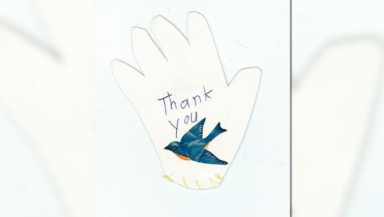 Thank You letter to Walt Disney
