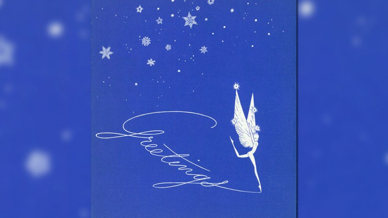 Fantasia Christmas Greeting card