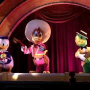 Historic Three Caballeros Figures Return to Walt Disney World Resort
