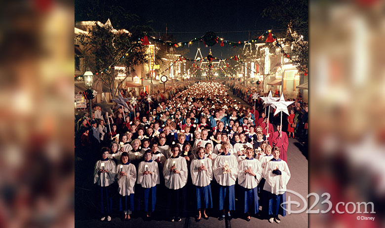 Candlelight Procession at Disneyland Park (1958)