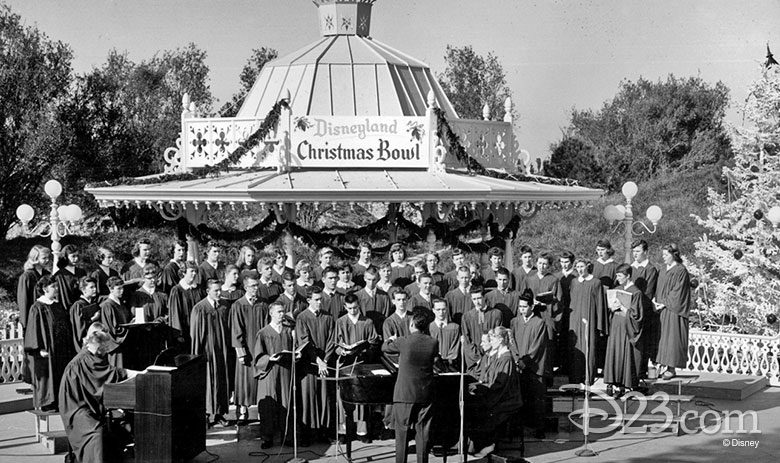 The Christmas Bowl at Disneyland Park (1955)