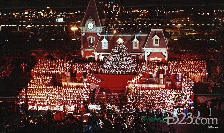 The Candlelight Procession and Ceremony at Disneyland (1976)