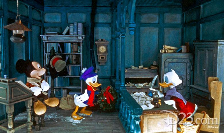 Disney Christmas Carol.Mickey S Christmas Carol As Told On Main Street U S A D23