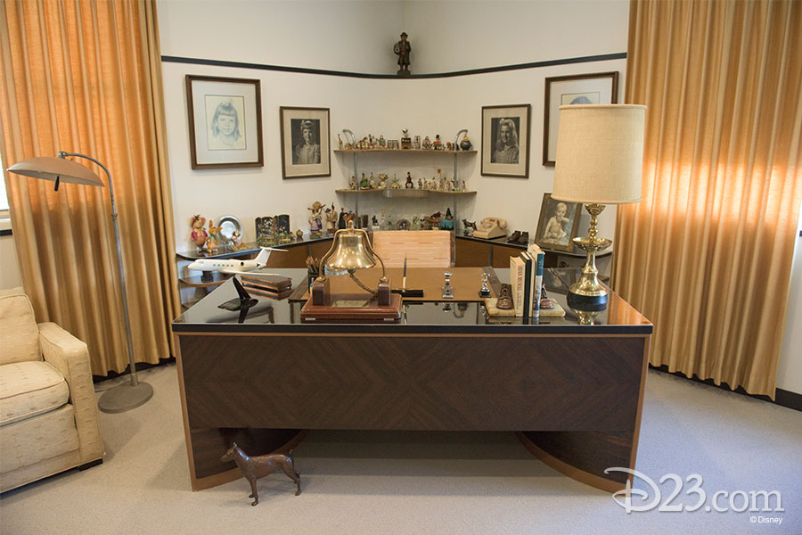 Walt Disney's Newly Restored Office Suite