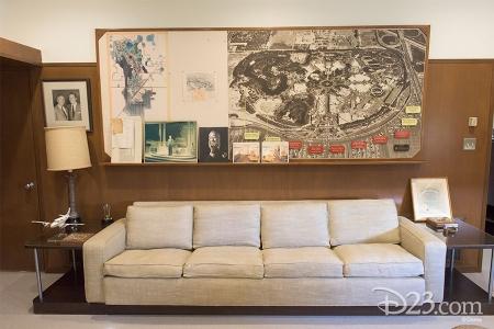 Walt Disney's Newly Restored Office Suite