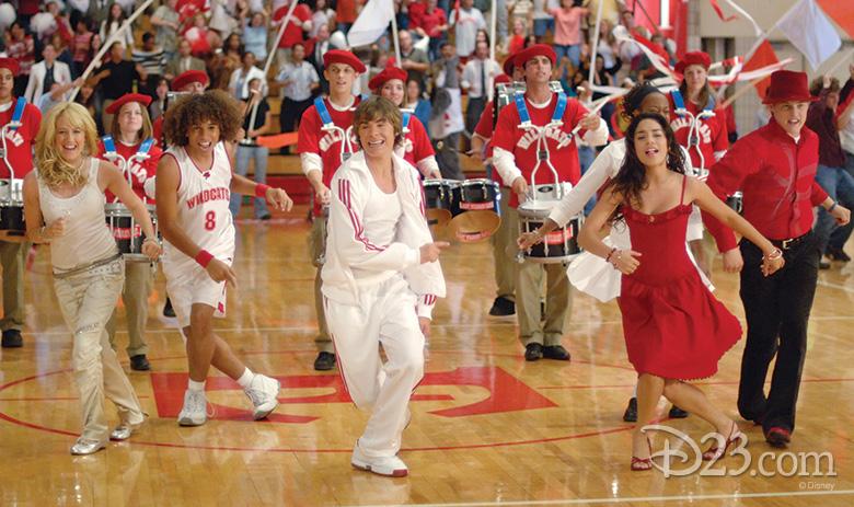 High School Musical Turns 10 D23