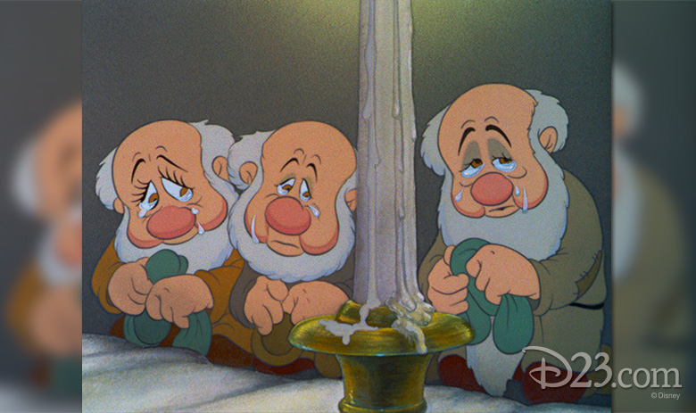 The film's emotional honesty shines in Frank Thomas' sequence of the dwarfs crying.