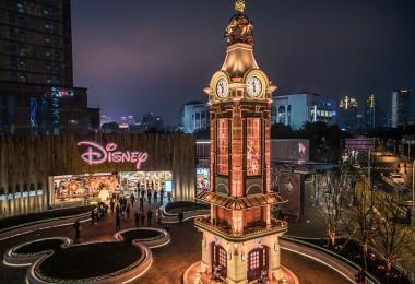 Shanghai Disney Store Clock Tower