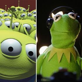 Gamora, Aliens, and Kermit the Frog