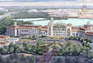 Shanghai Disneyland Hotel concept