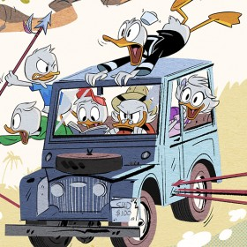 DuckTales new series artwork