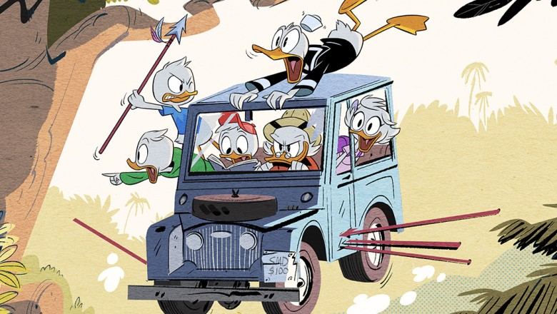 DuckTales new series artwork