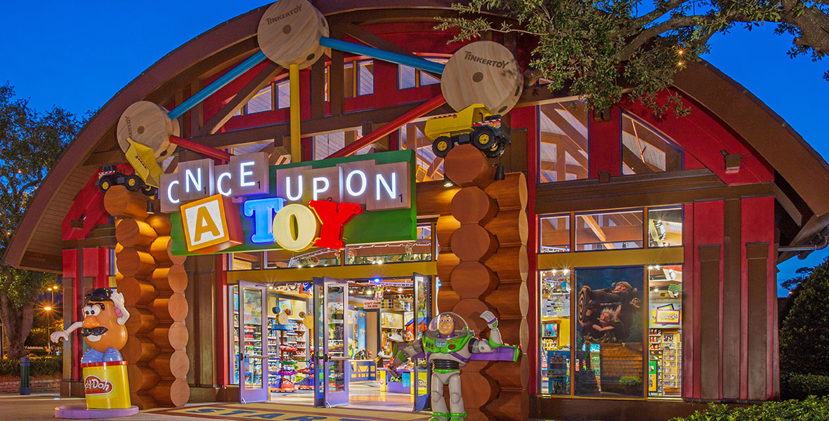 Once Upon a Toy store at Walt Disney World