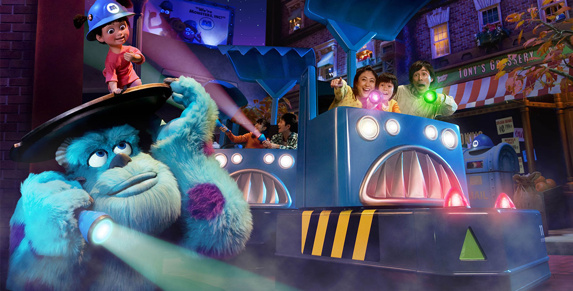 Monsters, Inc. Ride & Go Seek!