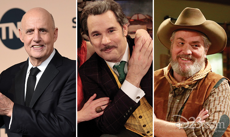 Jeffrey Tambor, Paul F. Tompkins, and M.C. Gainey
