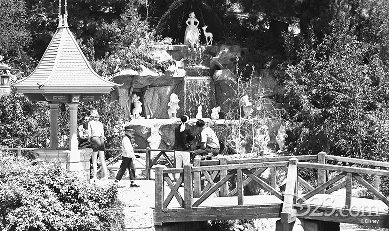 snow white grotto in the 1960s