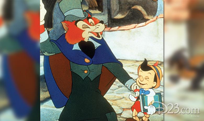 Foulfellow and Pinocchio