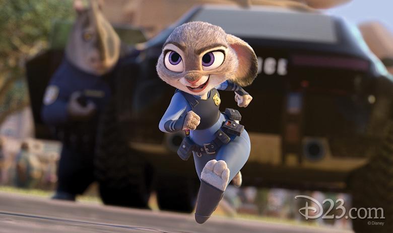 Judy Hopps running