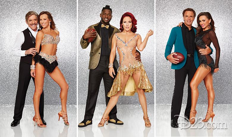 Geraldo Rivera, Antonio Brown, and Doug Flutie. New cast for Dancing with the Stars season 22