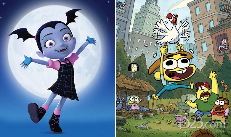 Disney Junior's Vampirina and Disney XD's Country Club