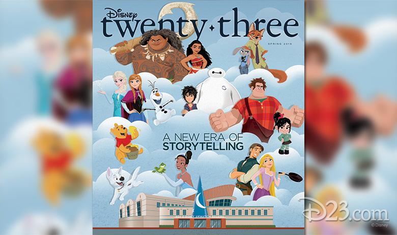 Disney twenty-three Spring 2016 issue