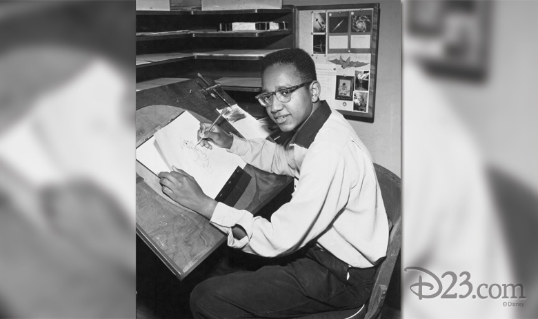 Floyd Norman in the 1950s