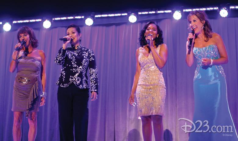 Disney Princesses perform at the Disney Legends Ceremony at D23 EXPO 2011