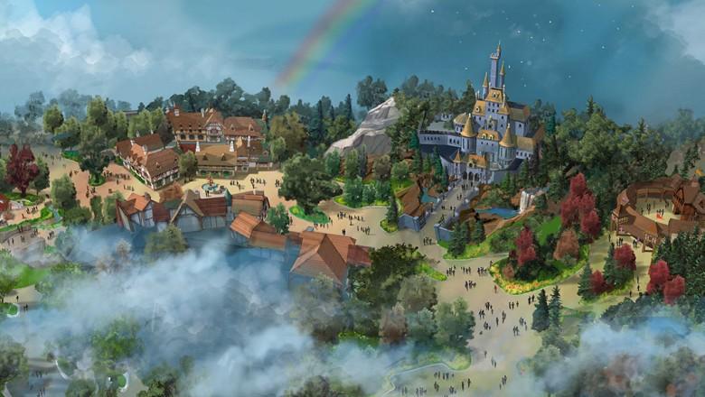 Fantasyland expansion concept art