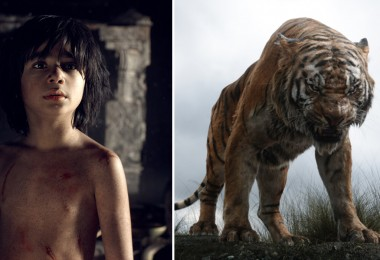 Mowgli and Sheir Kahn