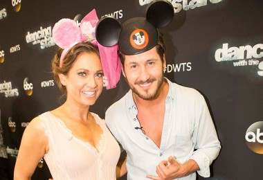 Ginger Zee and Val Chmerkovskiy
