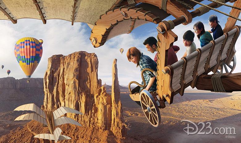 Soarin' Tokyo DisneySea concept art