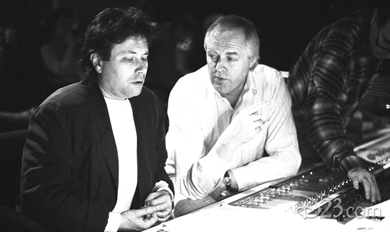 Alan Menken and Tim Rice